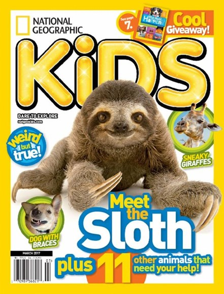 National Geographic Kids Cover - 3/1/2017