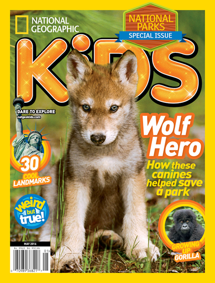 National Geographic Kids Cover - 5/1/2016