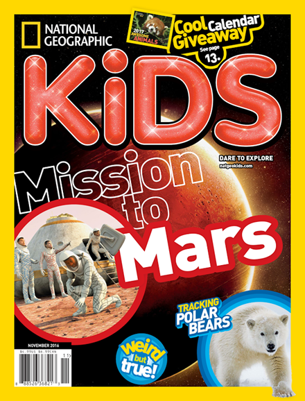 National Geographic Kids Cover - 11/1/2016