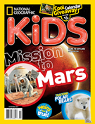 National Geographic Kids Magazine 11/1/2016