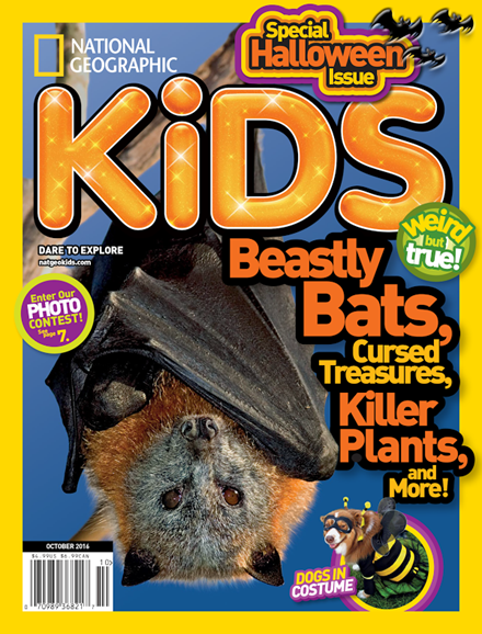 National Geographic Kids Cover - 10/1/2016
