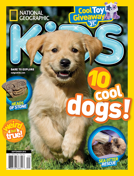 National Geographic Kids Cover - 9/1/2016