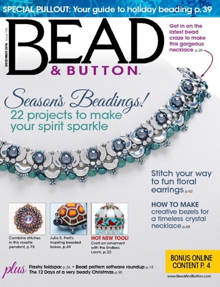 Bead & Button Cover - 12/1/2016