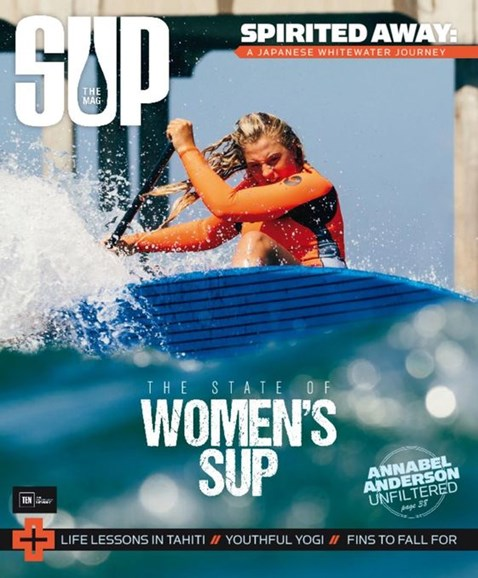 SUP Magazine Cover - 9/1/2016