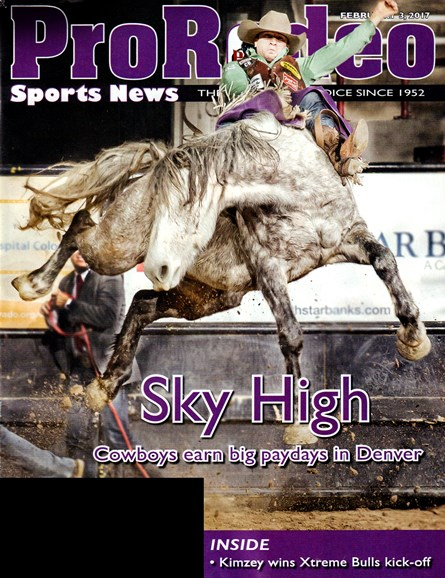 Pro Rodeo Sports News Cover - 2/3/2017