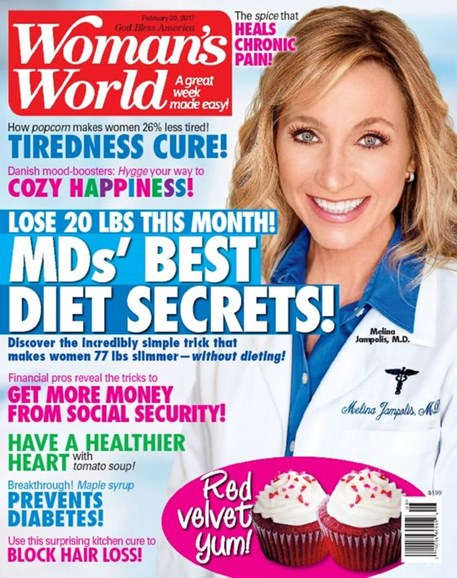 Woman's World Cover - 2/20/2017