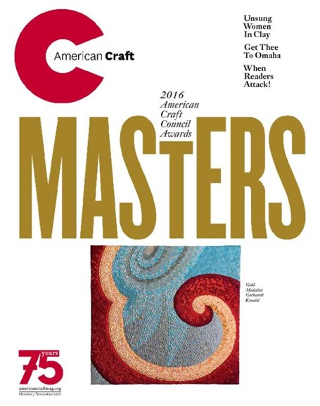 American Craft Cover - 10/1/2016