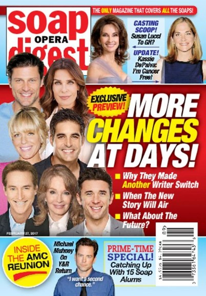 Soap Opera Digest Cover - 2/27/2017