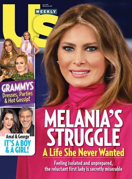 Us Weekly Cover - 2/27/2017