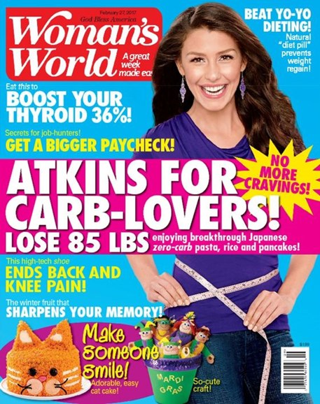Woman's World Cover - 2/27/2017