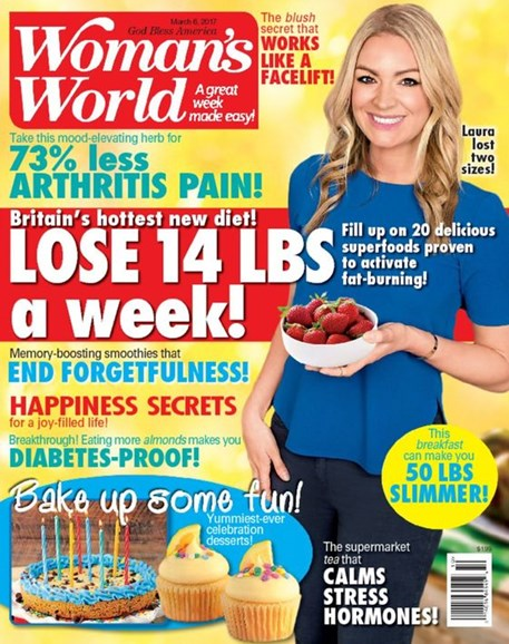 Woman's World Cover - 3/6/2017