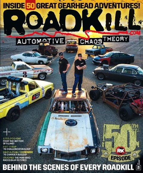 Roadkill Cover - 6/1/2016