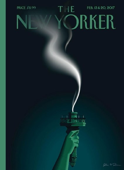 The New Yorker Cover - 2/13/2017