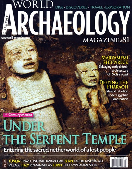 Current World Archaeology Cover - 2/1/2017