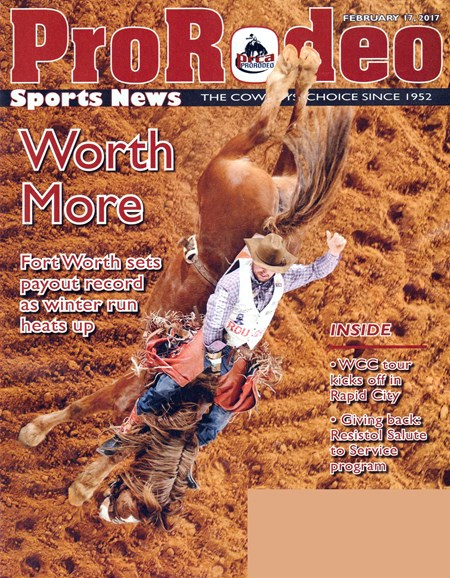 Pro Rodeo Sports News Cover - 2/17/2017
