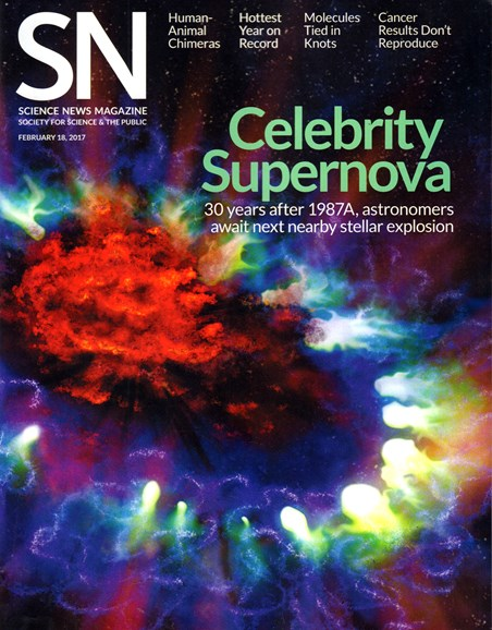 Science News Cover - 2/18/2017