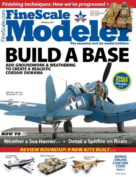 Finescale Modeler Cover - 2/1/2017