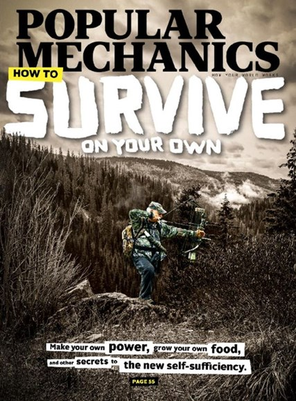 Popular Mechanics Cover - 2/1/2017