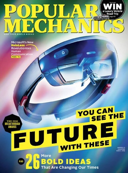 Popular Mechanics Cover - 10/1/2016