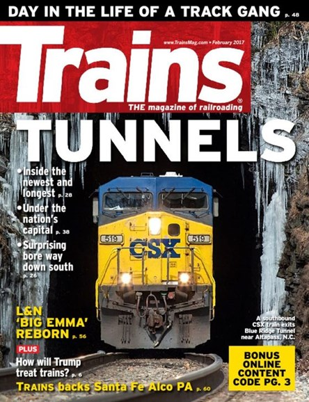 Trains Cover - 2/1/2017