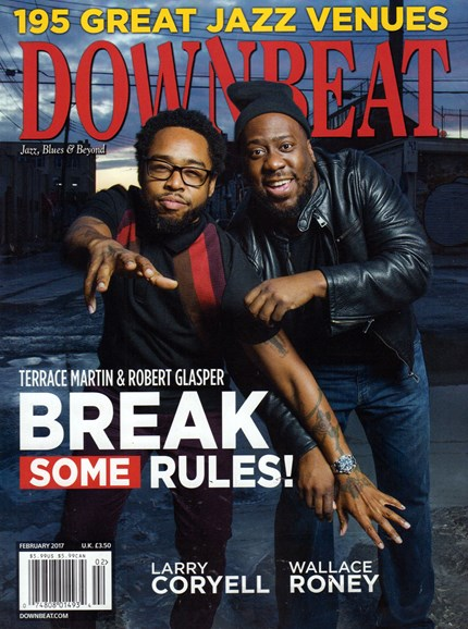 DownBeat Cover - 2/1/2017