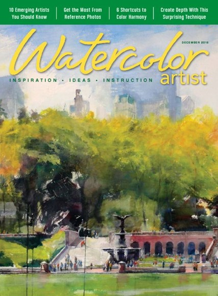 Watercolor Artist Cover - 12/1/2016