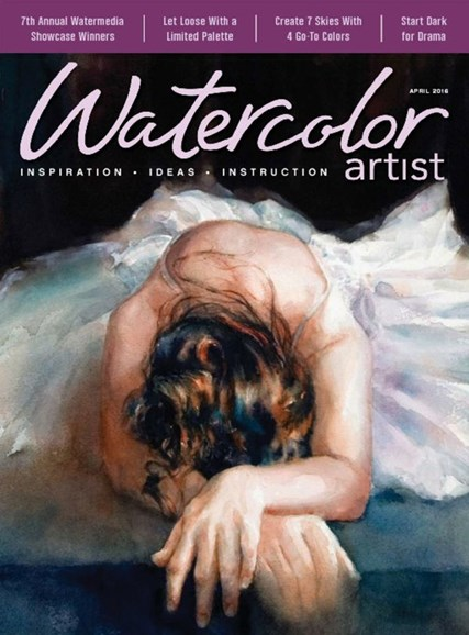 Watercolor Artist Cover - 4/1/2016