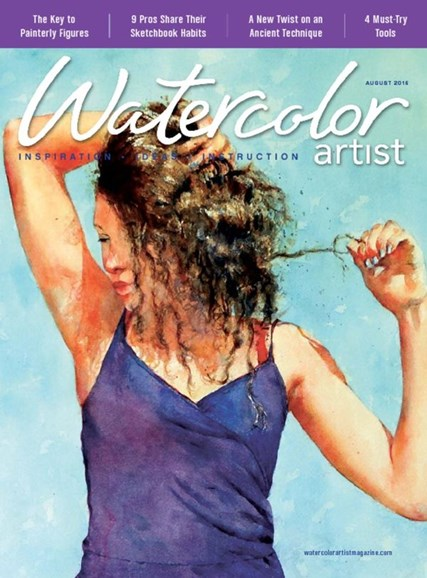 Watercolor Artist Cover - 8/1/2016
