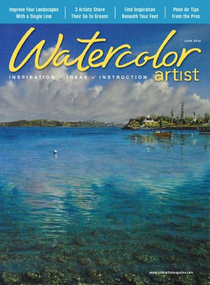 Watercolor Artist Cover - 6/1/2016