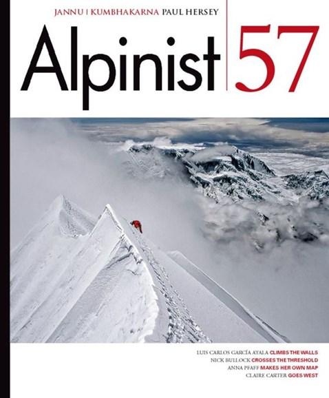 Alpinist Cover - 3/1/2017