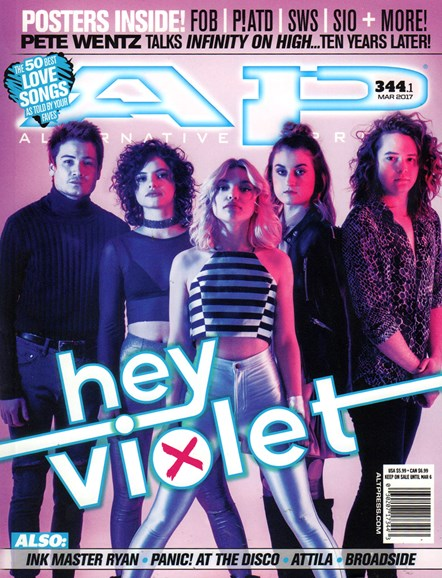 Alternative Press Cover - 3/1/2017