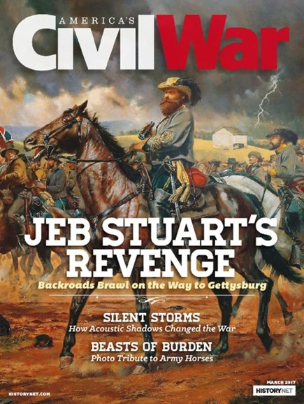 America's Civil War Cover - 3/1/2017