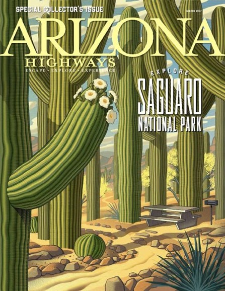 Arizona Highways Cover - 3/1/2017