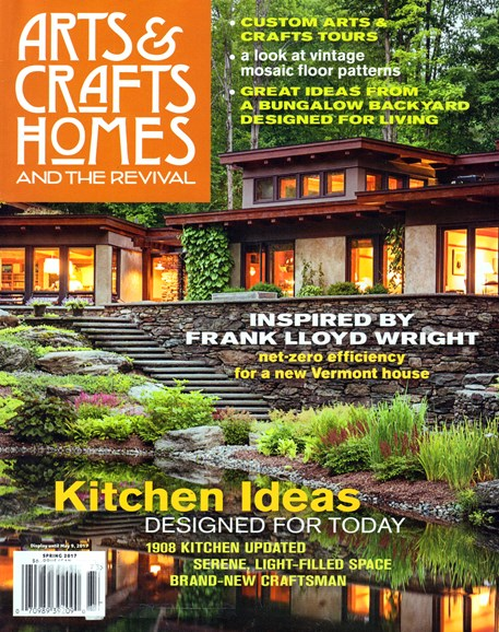 Arts & Crafts Homes Cover - 3/1/2017