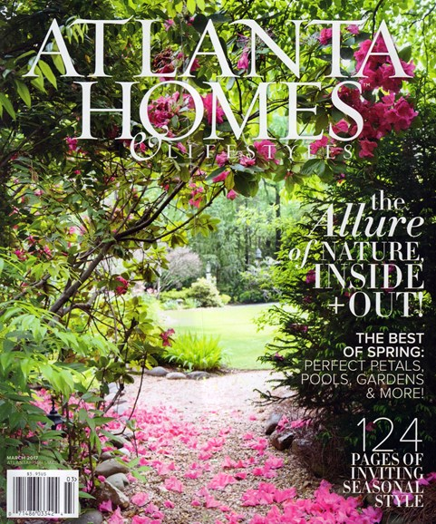 Atlanta Homes & Lifestyles Cover - 3/1/2017