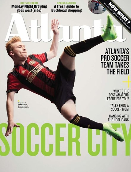 Atlanta Magazine Cover - 3/1/2017