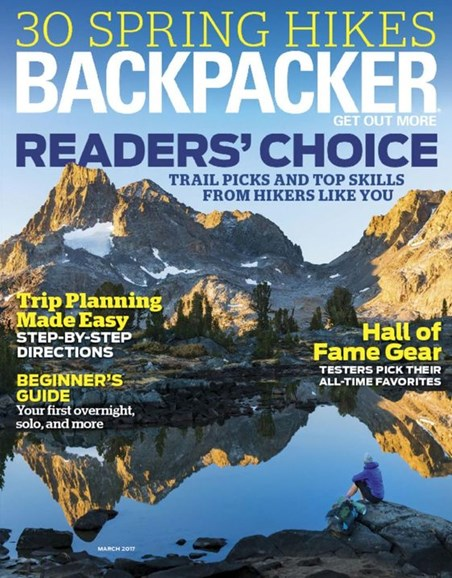 Backpacker Cover - 3/1/2017