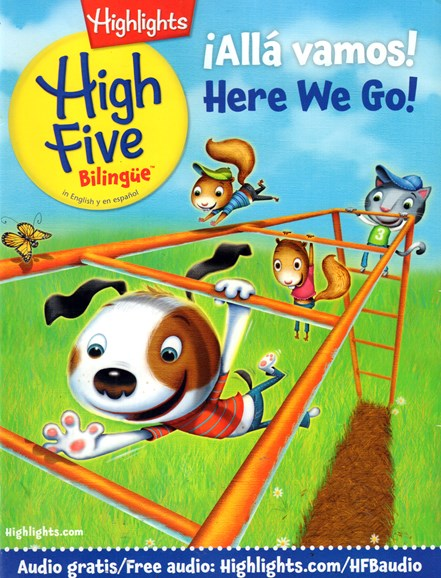Highlights High Five Bilingue Cover - 3/1/2017