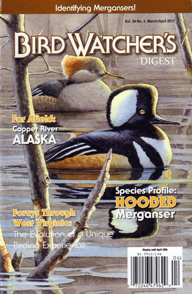 Bird Watcher's Digest Cover - 3/1/2017