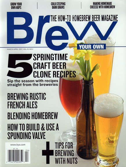 Brew Your Own Cover - 3/1/2017