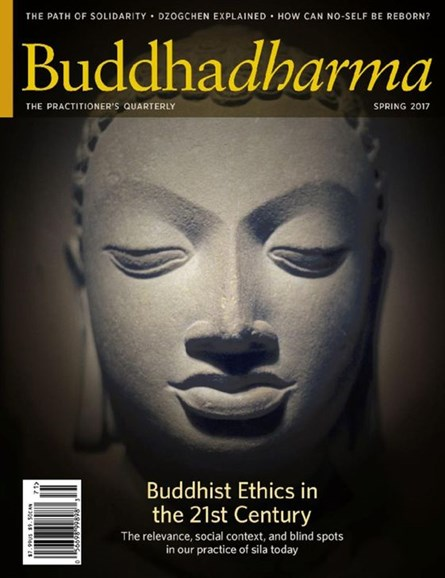 BUDDHADHARMA: THE PRACTIONER'S QUARTERLY Cover - 3/1/2017