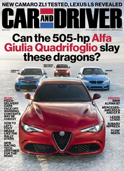 Car And Driver Cover - 3/1/2017