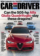 Car And Driver Magazine 3/1/2017