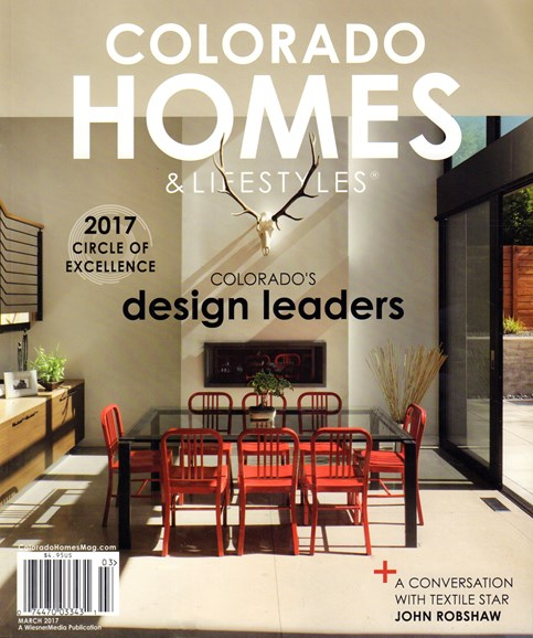 Colorado Homes & Lifestyles Cover - 3/1/2017
