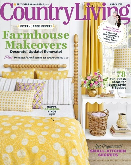 Country Living Cover - 3/1/2017
