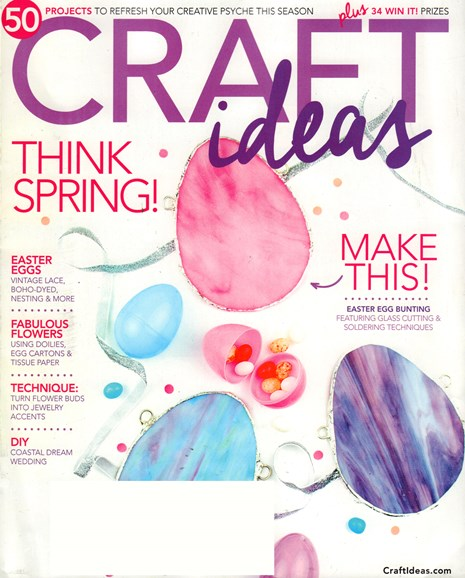 Craft Ideas Cover - 3/1/2017