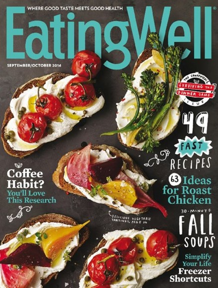 EatingWell Cover - 9/1/2016