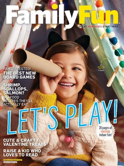 Family Fun Cover - 2/1/2017