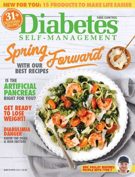 Diabetes Self-Management Cover - 3/1/2017