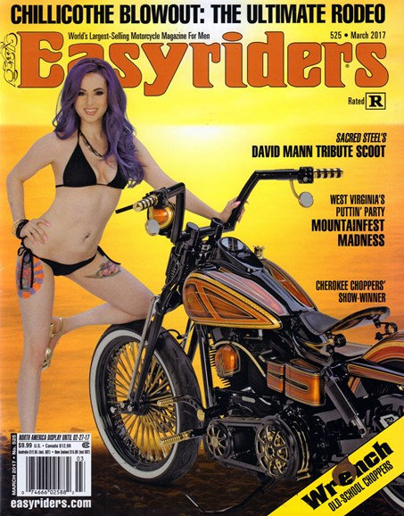 Easyriders Cover - 3/1/2017